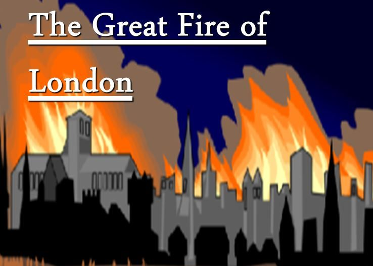 The Great Fire of London ..... recreated by year 1.